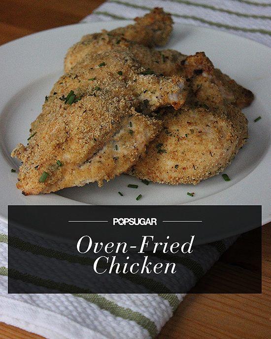 Comfort Under 350 Calories: Oven-Fried Chicken
