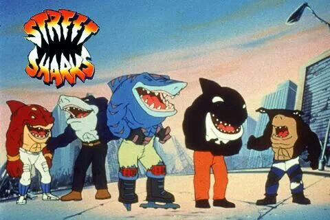 Street Sharks | Comic books/super hero's/super villains ...