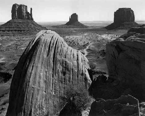 Ansel Adams Momument Valley Arizona