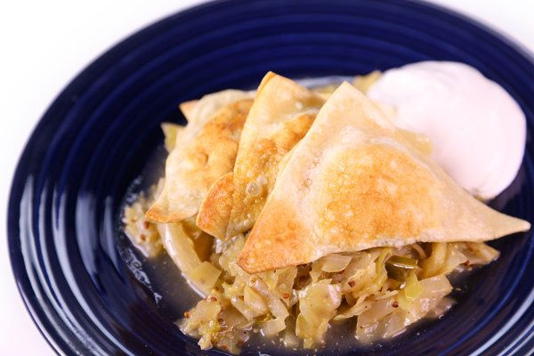 Michael Ruhlman's Kreplach With Braised Cabbage - for our Hanukah ...