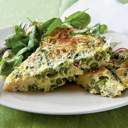Asparagus Frittata. | FOOD WE LOVE | Pinterest