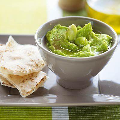 Roast Garlic and Edamame Dip | Health.com SO yummy!!!!!