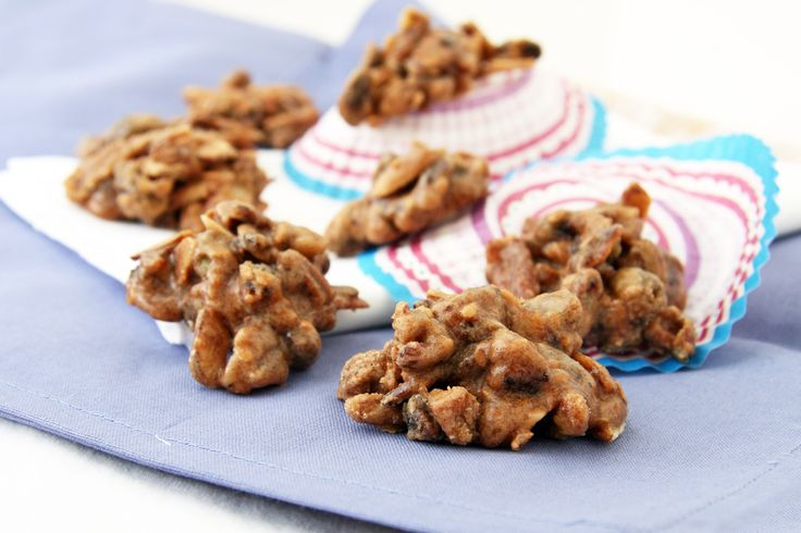 salted mixed nut clusters | Eating. Nuts, Seeds, Quinoa, Lintels | Pi ...