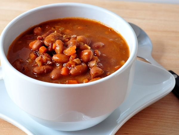 Bean with Bacon Soup | Savory Soups | Pinterest