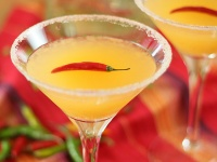 Red Chili Martini.....wowwww! I need to try!!