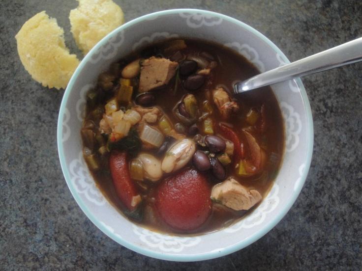 Jerk Chicken Chili | Food Ideas | Pinterest