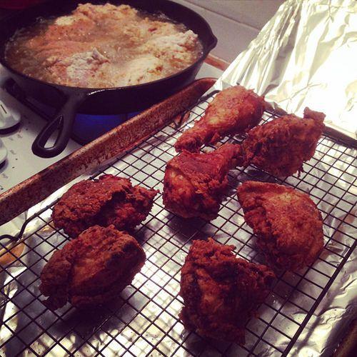 Skillet fried chicken   Recipes   Pinterest