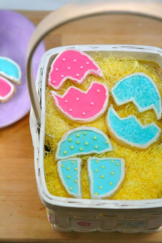 Easter Egg Puzzle Cookies! | Recipes | Pinterest