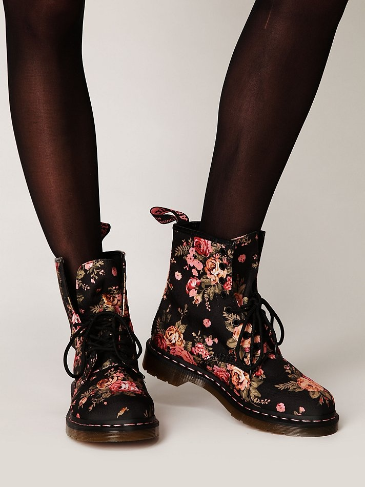 Dr. Martens Victorian Floral Docs. I have these and love them