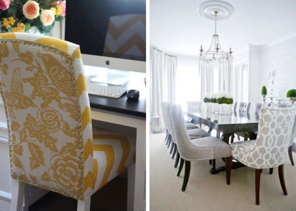 Reupholstering Dining Room Chairs Alluring Design Inspiration
