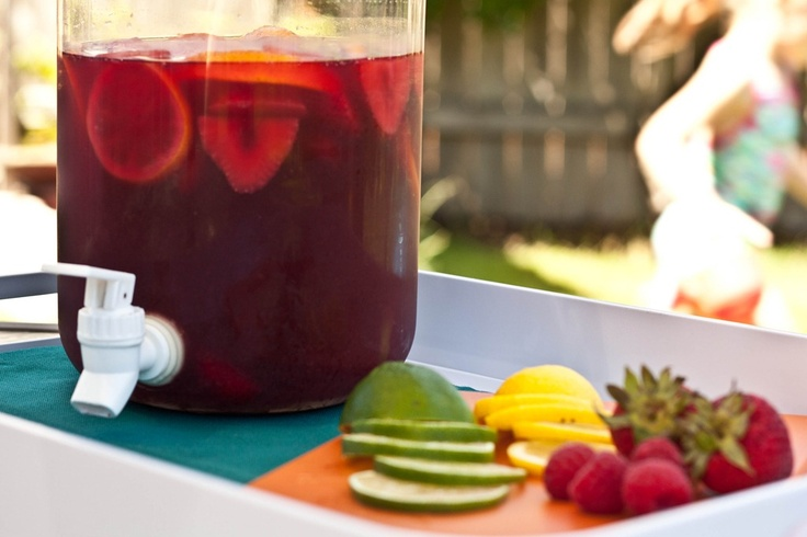 Non alcoholic Sangria | Drinks to Try | Pinterest