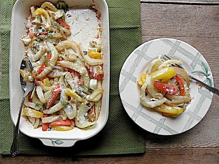 fennel gratin | Get in my Belly | Pinterest