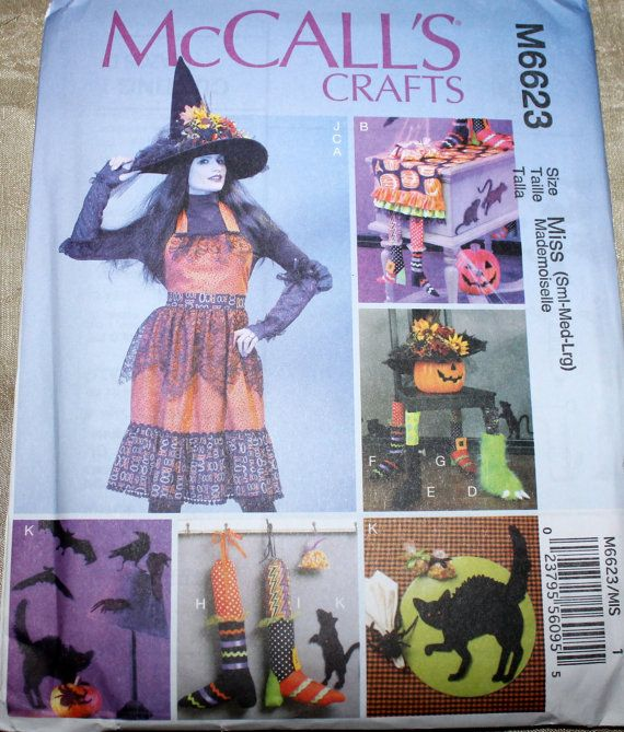 McCalls Pattern M6623 McCalls Crafts by EmbellishByAndrea on Etsy, $8