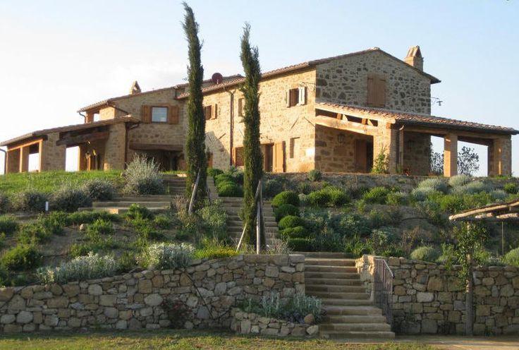 Tuscan Farm House Exterior Tuscan Spanish Mediterranean