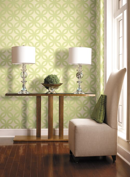 Hallway, York Wallpapers  #lifeinstyle  #greenwithenvy