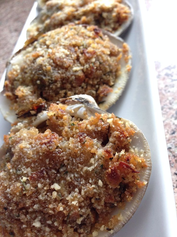 Baked clams | What's cooking | Pinterest