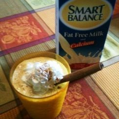Pumpkin Cheesecake Milkshake   Smart Balance