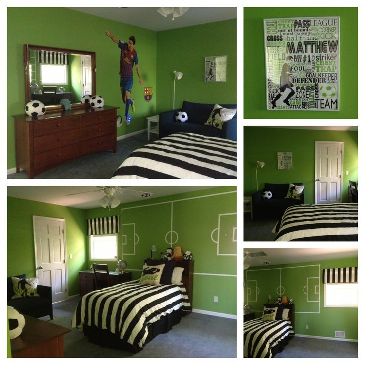 soccer room soccer bedroom ideas pinterest