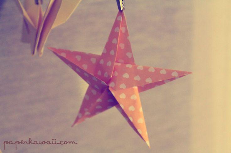 origami star paper