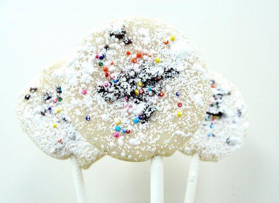 Cannoli lollipop italian wedding bridal shower hostess gift