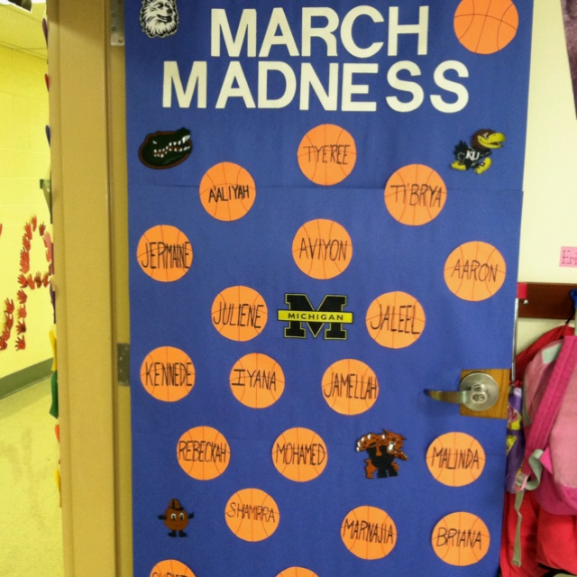 Classroom Decorations For March ~ March decorative door idea decorator pinterest