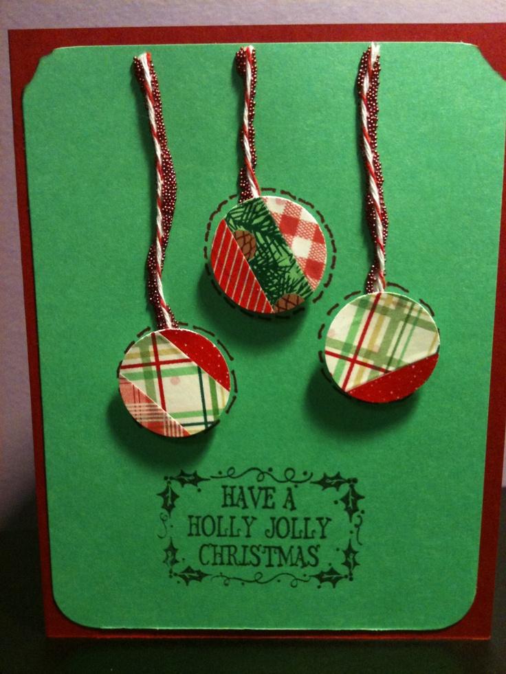 christmas card | My Krafties | Pinterest: pinterest.com/pin/244812929713734616