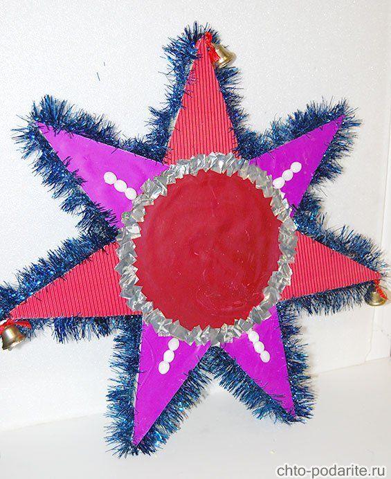 Как сделать чтобы рождественская звезда 48