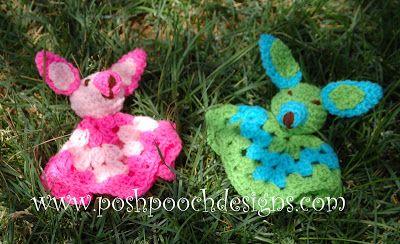 Chihuahua Christmas Ornament Crochet Pattern