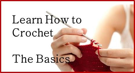 Learn To Crochet Video : Learn How To Crochet instructions Pinterest