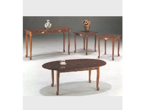 Image Result For Queen Anne Sofa Table Oak Finish