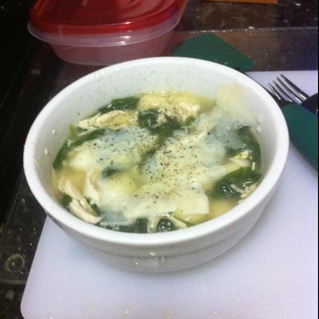 Chicken, Spinach & Gnocchi Soup | Recipe