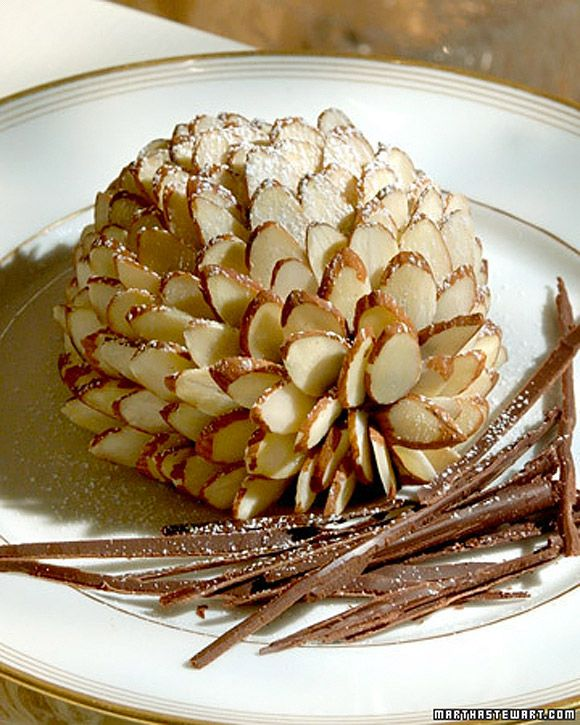Pinecone Cakes | Food, Glorious (Gluten Free) Food | Pinterest