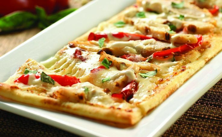 Grilled Chicken Flatbread   Recipes to Cook   Pinterest