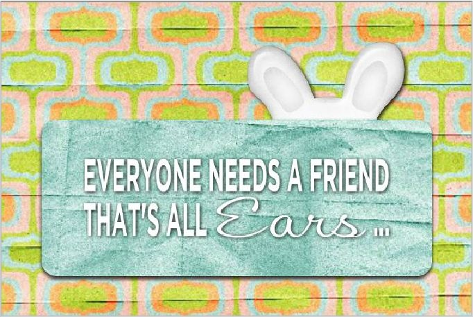 all ears 6x4 greeting card template my heritage makers