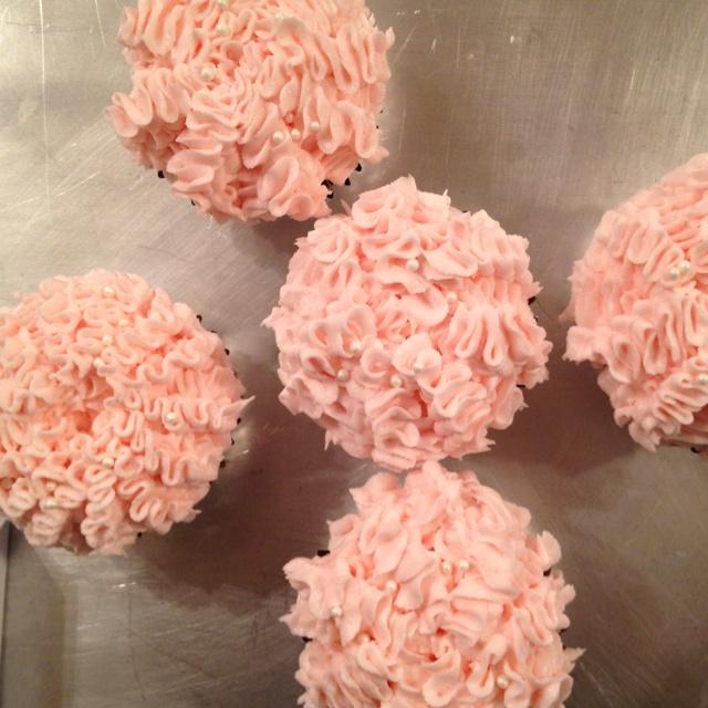 Pink Frilly Cupcakes By Cake Genie Lafayette La