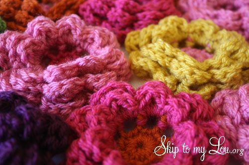 Free Crochet Pattern Large Flower : Crochet flowers free pattern Knitting & crochet Pinterest