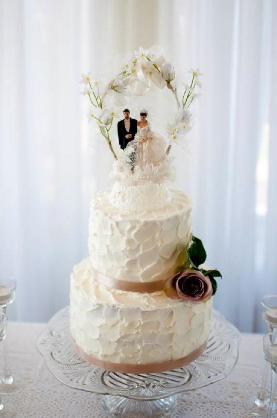 Wedding Cake Art And Design Center : 5 Great Buttercream Wedding Cake Ideas