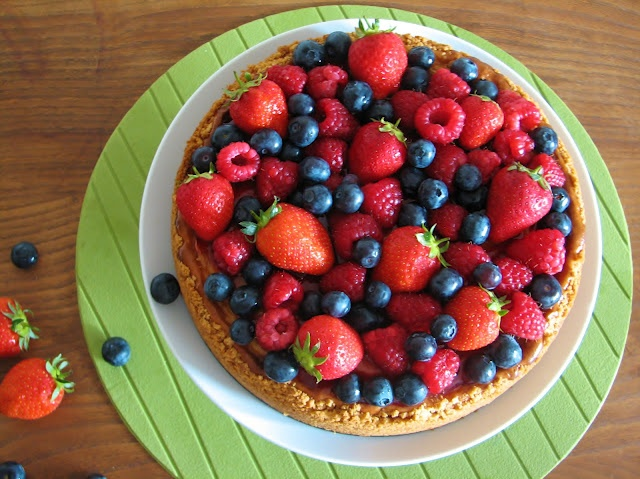 Berry cheesecake food party food babyfood pinterest
