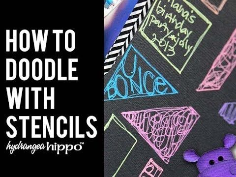 How to Doodle on a Scrapbook Page
