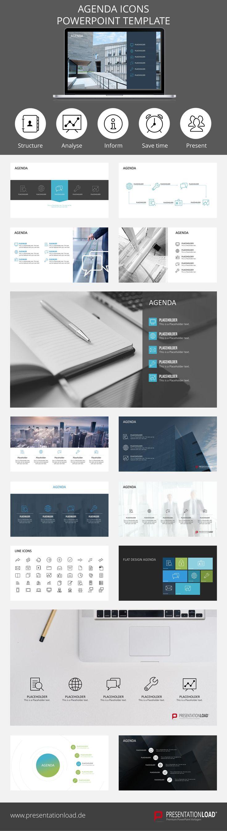 Agenda design templates