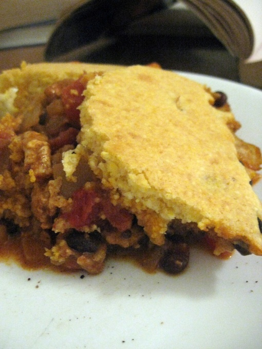 Tamale Pie. This tasted great and was quick to make.
