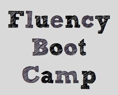 Fluency boot camp - full of ideas, printables, activities, and resources.