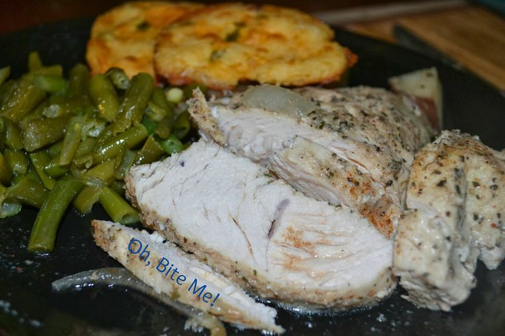 """""""Beer Can"""" Turkey Breast With BBQ Gravy Recipe — Dishmaps"""