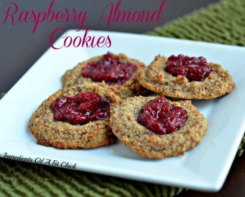 Raspberry Almond Cookies- paleo   Recipes 2 try   Pinterest