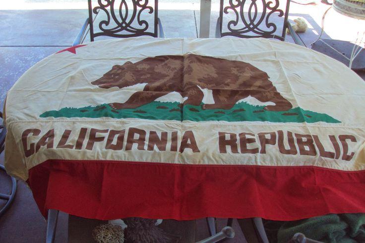 cotton california flag