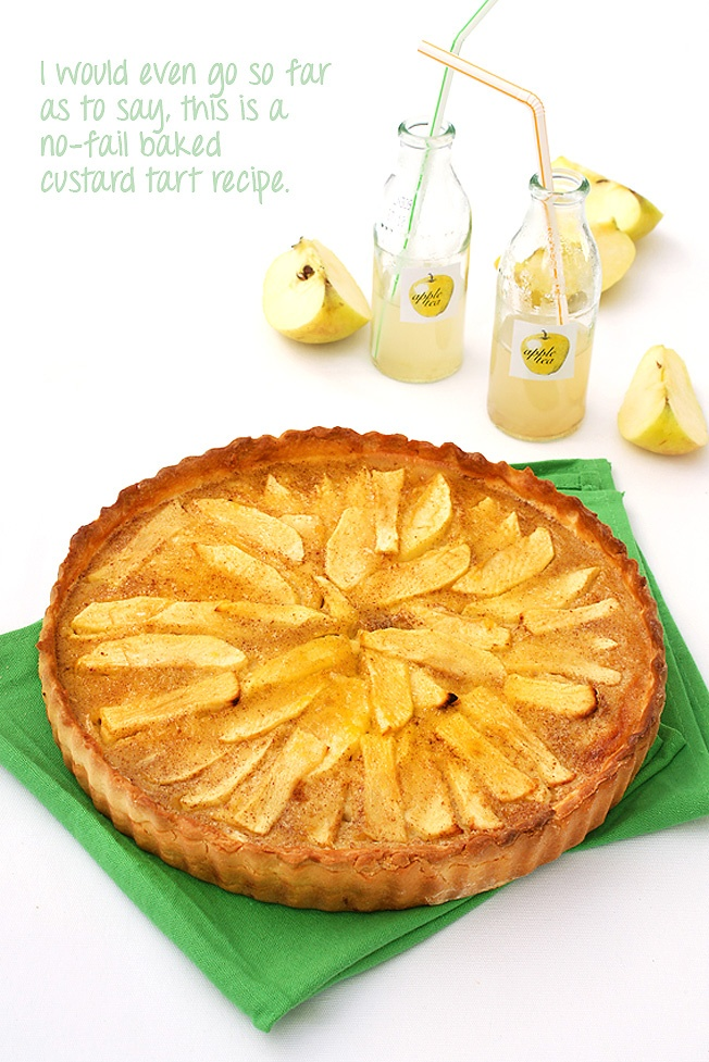 Vanessa's apple custard tart, as featured in Real Magazine. My tart ...