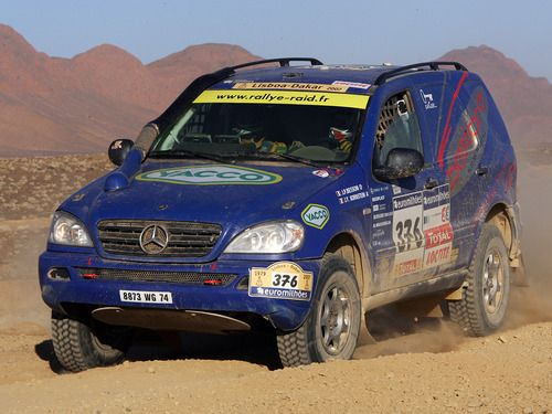 Mercedes benz ml rally raid car german cars blog pinterest for Rally mercedes benz