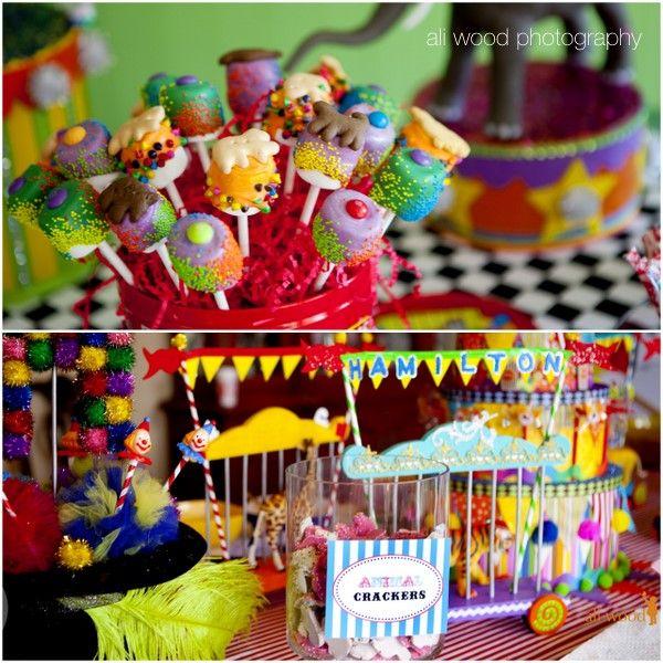 Sweet Customers Hamiltons Vintage Circus First Birthday