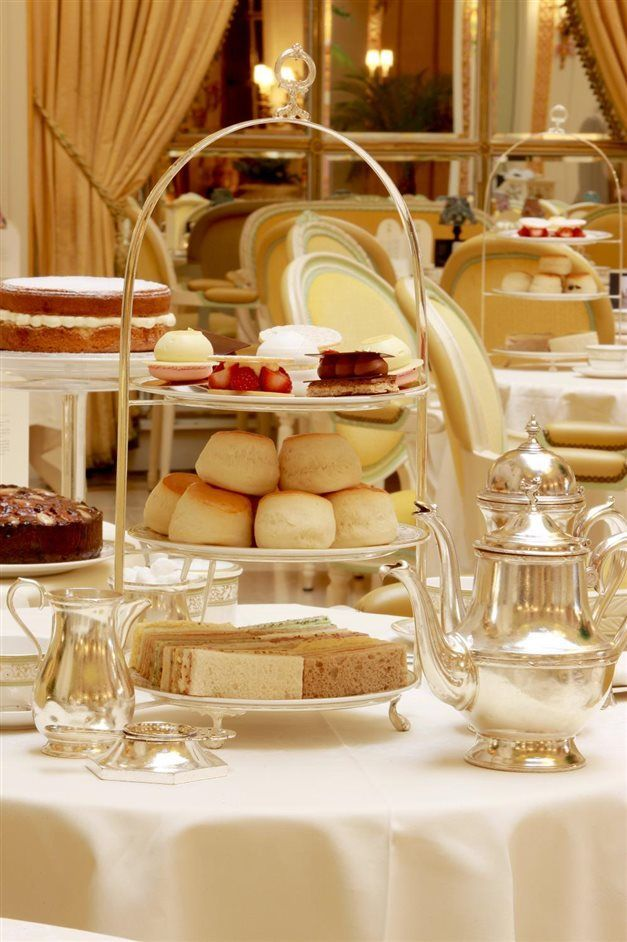 Tea at the ritz in london england