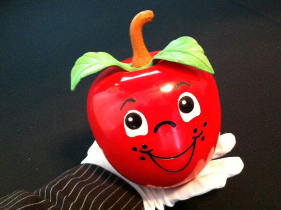 Happy Apple Fisher Price Chiming Apple 1972
